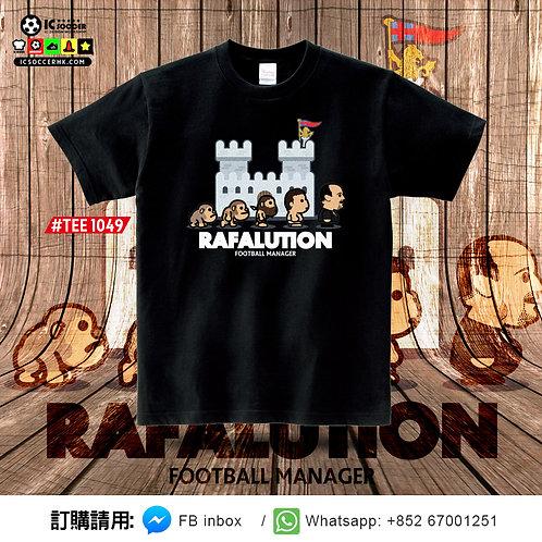 TEE1049 RAFALUTION Tee - 黑色