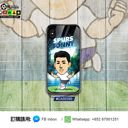 CASE095 SONNY 鋼化玻璃電話套