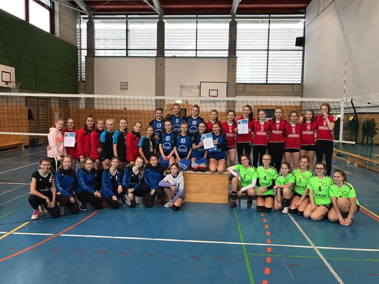 Oberpfalzmeisterschaft U 16 weiblich in Weiden