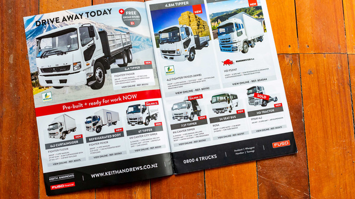 Client: Keith Andrews Trucks