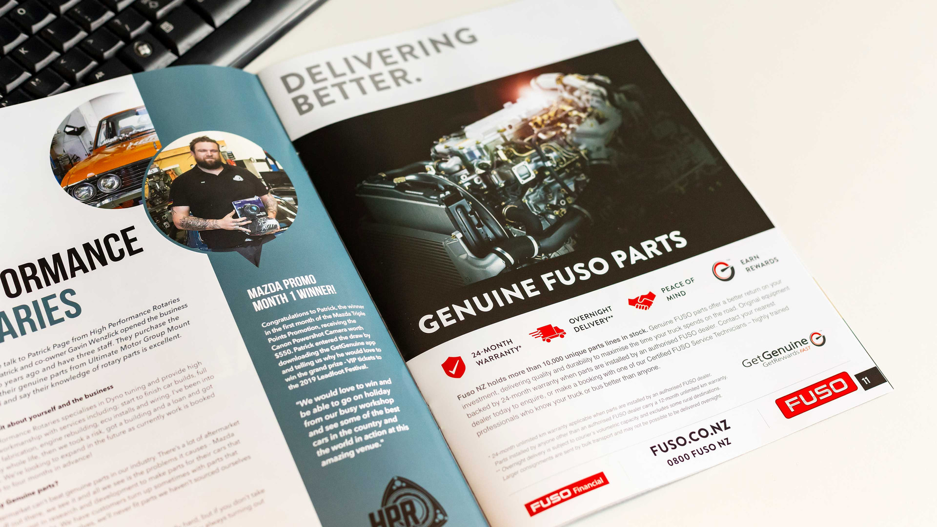 Client: Fuso New Zealand