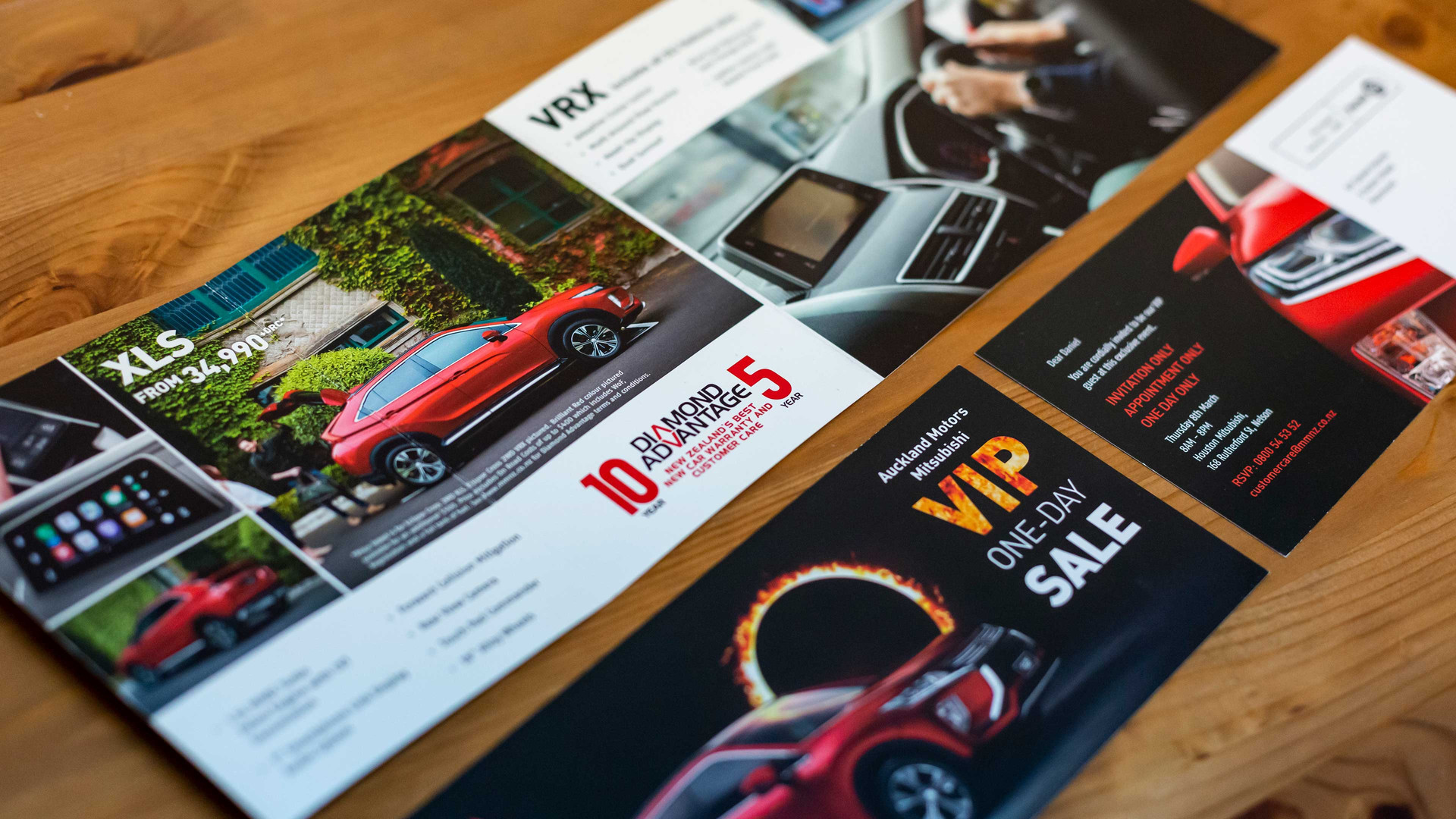 Client: Mitsubishi Motors New Zealand