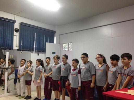 Teatro das turmas do 1º ao 5º ano