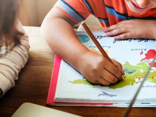Tarefas escolares ajudam no aprendizado