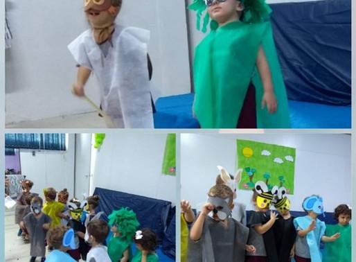 Teatro Mensal - Educação Infantil