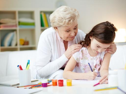 Convivência com os avós traz benefícios para desenvolvimento das crianças