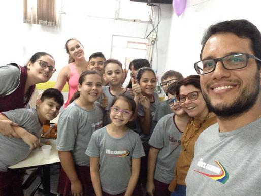 Surpresa Especial - alunos do 5º ano do Ensino Fundamental