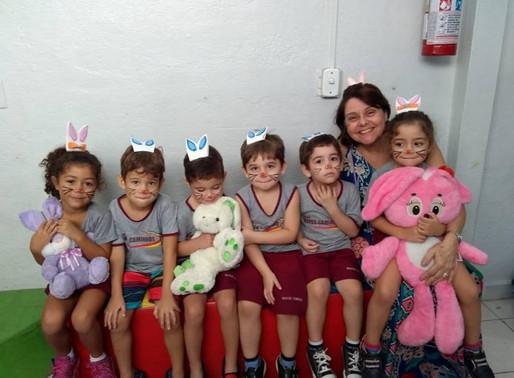 Celebração da Páscoa - Educação Infantil