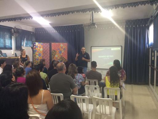 Reunião de Pais - 1º ano do Ensino Médio