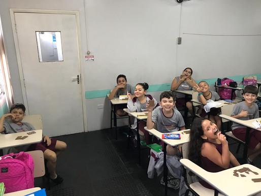 Aula de matemática - 4º ano do Ensino Fundamental
