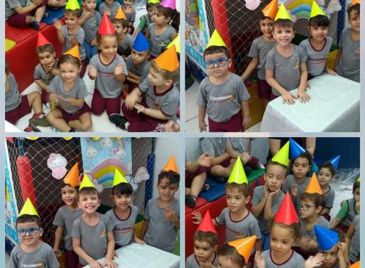 Aniversariantes de Junho - Educação Infantil