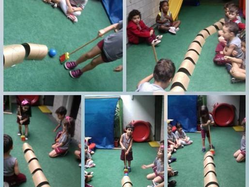 Jogos com os alunos da Educação Infantil