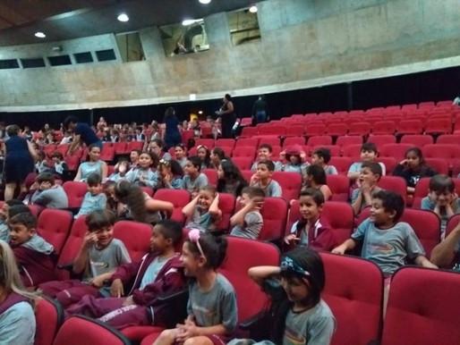 Ida ao Teatro - Ensino Infantil e Fundamental