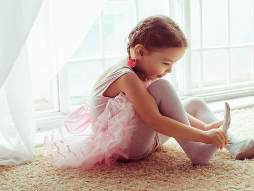 Benefícios do ballet para as crianças