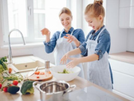 3 receitas para fazer com as crianças