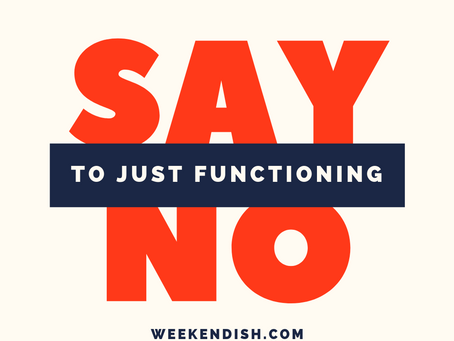 Functioning Is The New Drug