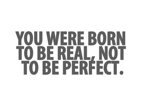 Relax! Imperfection is Normal.