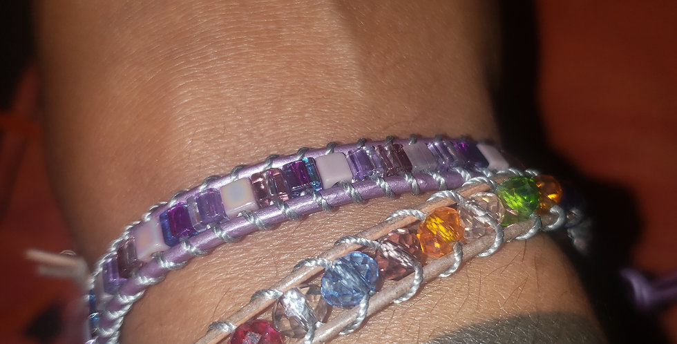 hand-crafted braclets