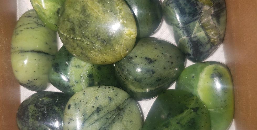 small tumbled Jade