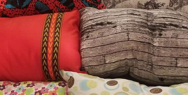Amethyst Pillows