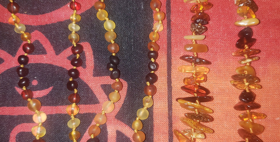 Amberos Amber Baby necklaces
