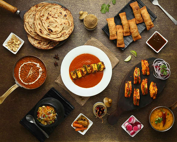 The Clicker Guy - Food photography - Flatlay - Havmor Restaurant, Ahmedabad
