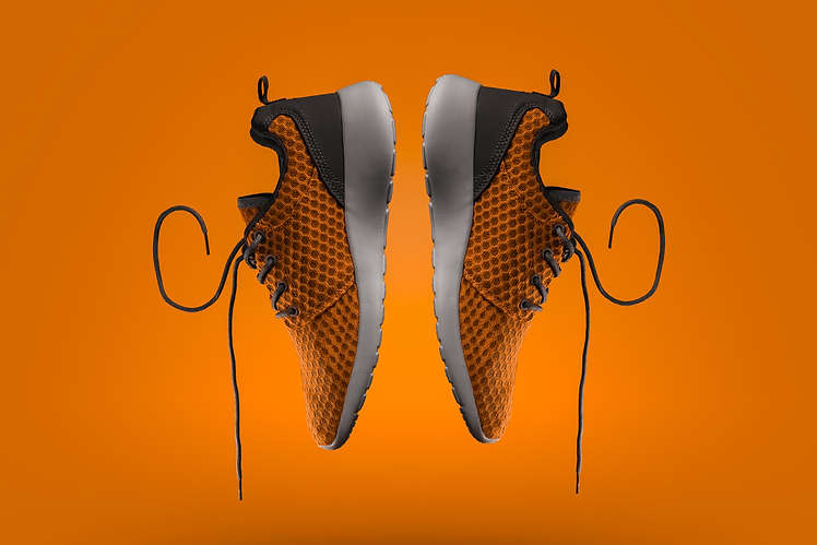 The Clicker Guy - Product Photography - Orange Shoes