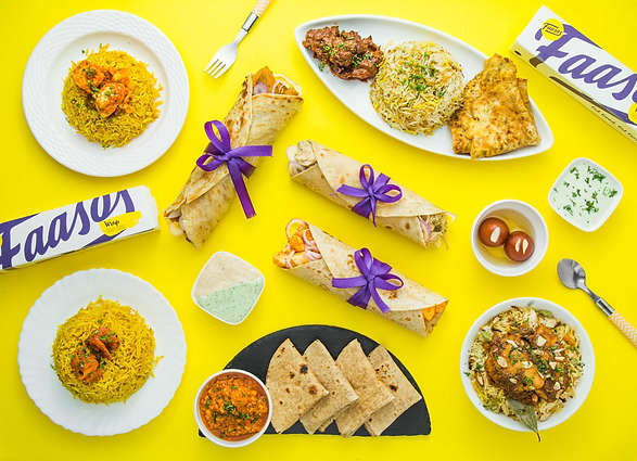 The Clicker Guy - Food photography - Faasos - UberEats Outdoor Campaign