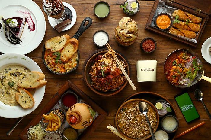 The Clicker Guy - Food photography - Flatlay - Mocha, Ahmedabad