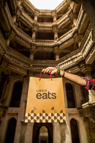 Ahmedabad Lauch - UberEats - The Clicker Guy Photography