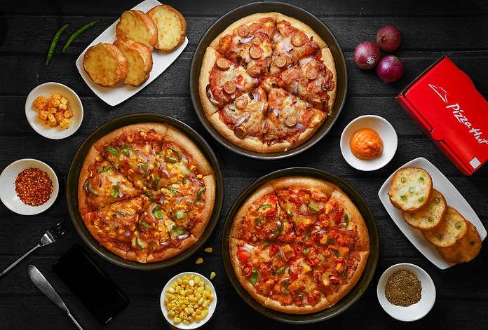 The Clicker Guy - Food photography - Flatlay - Pizza Hut