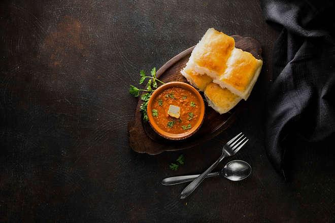 The Clicker Guy - Food photography - UberEats-Pav Bhaji Campaign shoot