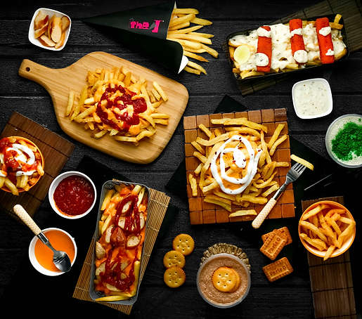 The Clicker Guy - Food photography - Flatlay - The J
