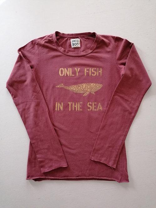 T-shirt color Pozzuoli manica lunga M