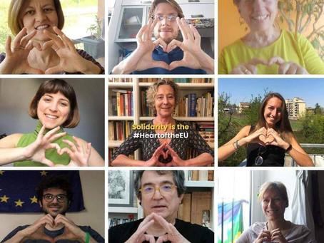 Solidarietà: dritta al cuore dell'Europa!