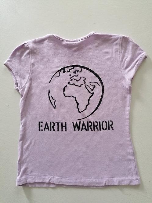 T-shirt color lavanda bimba 4-5 anni
