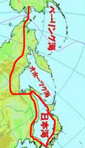環日本海ルート図
