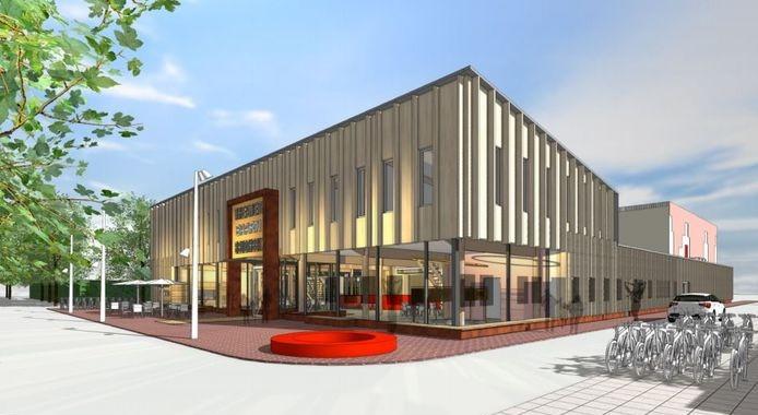 De nieuwbouw van theater De Speeldoos