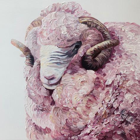 SOLD 'Feeling sheepish'