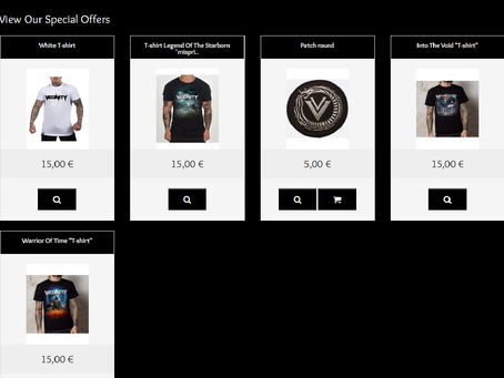 Epic promo in the webshop
