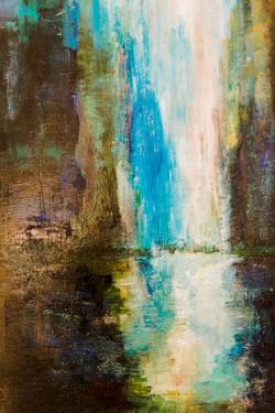 Wasserfall - Detailansicht