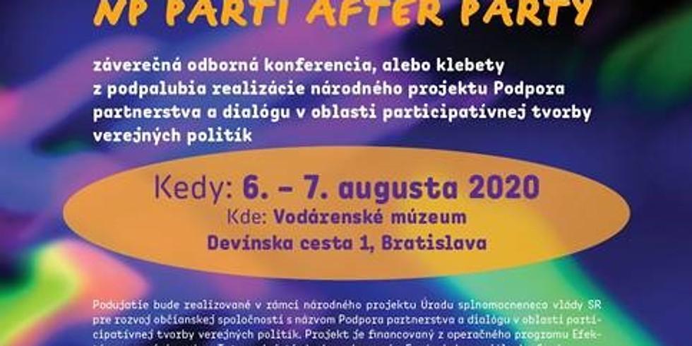 """Záverečná konferencia projektu """"Podpora partnerstva a dialógu v oblasti participatívnej tvorby verejných politík"""""""