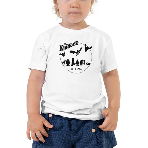 The Kindeez Group Silhouette - Black Line Toddler Short Sleeve Tee