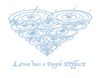 Art of Vincent Lucido Heart Ripple Design