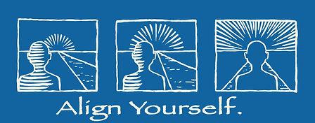 Art of Vincent Lucido Align Yourself Design