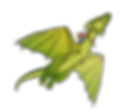 Deegan the Draon flying