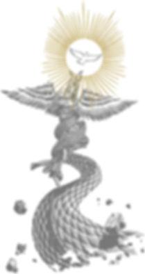 Art of Vincent Lucido Angel Design in grey