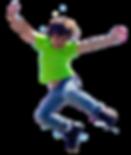 Boy Jumping Kindeez Kids