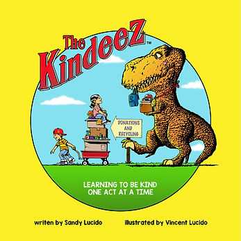 The Kindeez: Learning to be Kind One Act at a Time Cover
