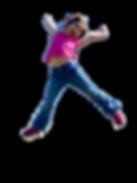 Girl Jumping Kindeez Kids